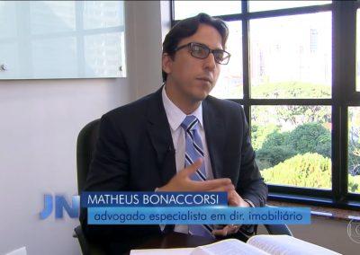 Jornal Nacional / TV Globo-Devedor de condomínio pode sofrer penhora com a lei mais rígida