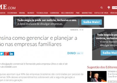 Revista EXAME-Livro ensina como gerenciar e planejar a sucessão nas empresas familiares