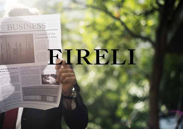 Departamento de Registro Empresarial e Integração (DREI) autoriza a constituição de EIRELI por pessoas jurídicas